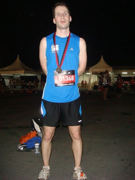 Beat the sunrise (Singapore SUNDOWN MARATHON 2010) - Mentom ...